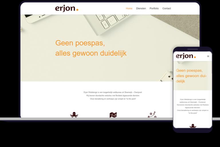erjon webdesign steenwijk door hellodot