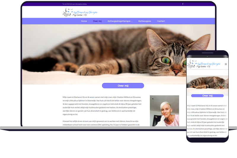 gedragstherapie katten